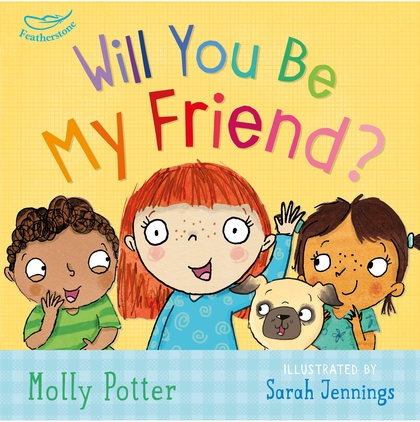 Will you be my friend book for children